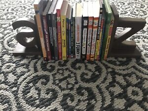 Book ends and all books included $50!