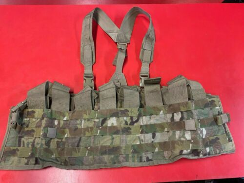 ARMY OCP TACTICAL ASSAULT PANEL TAP SCORPION CHEST RIG LOAD CARRIER VEST