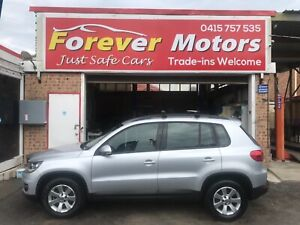 2012 Volkswagen TIGUAN 132 TSI PACIFIC AUTOMATIC SUV Long Jetty Wyong Area Preview