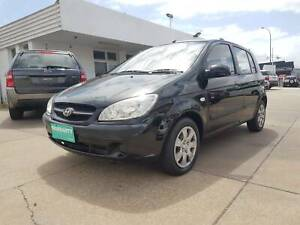 2009 HYUNDAI GETZ AUTOMATIC HATCHBACK 5DR SUPER LOW KMS Victoria Park Victoria Park Area Preview