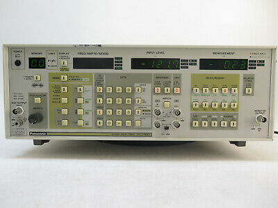 Panasonic Vp-7722a Audio Analyzer