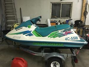 1994 Seadoo SPX 650 with trailer
