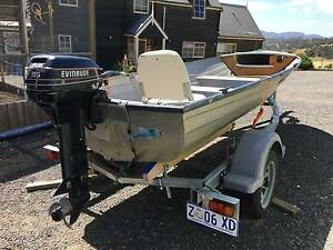 Aluminium Dinghy - 4.1m Old Beach Brighton Area Preview