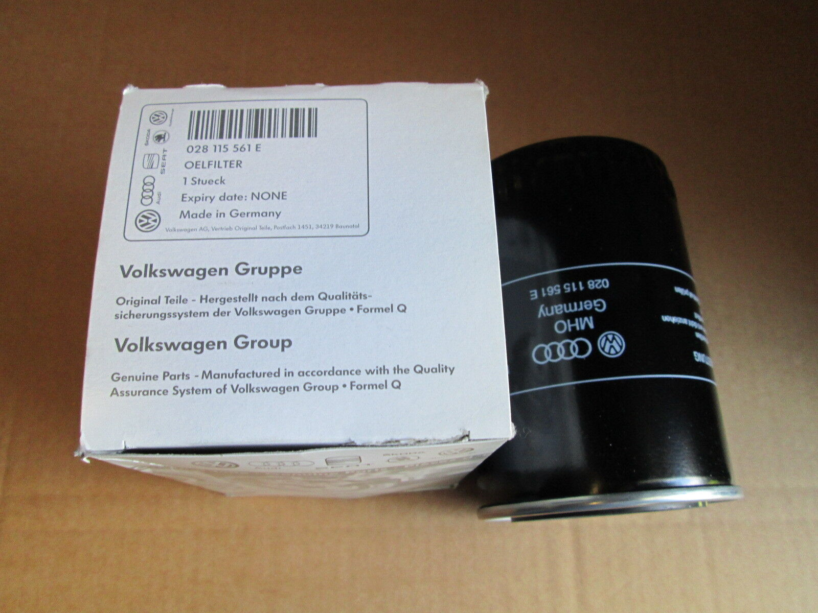 NEW GENUINE VW POLO LUPO 1.7 1.9 DIESEL ENGINE OIL FILTER 030115561C