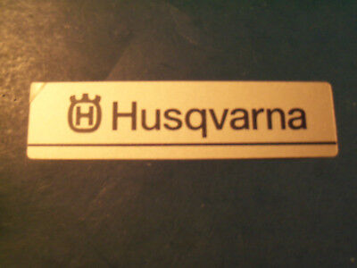 NEW HUSQVARNA BAR COVER DECAL FITS MANY SAWS 503768101 OEM FREE SHIPPING