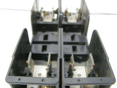 GENERAL ELECTRIC FUSE BLOCK CR151KCC22CO 600V/30A 2 POLE USED