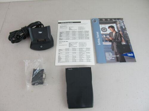 Palm IIIc Color Handheld Organizer + Dock + Manual