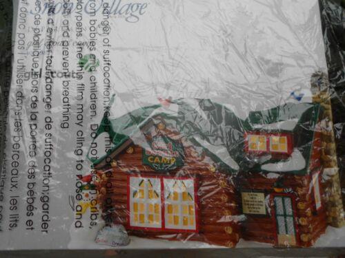 DEPT 56 SNOW Village GIRL SCOUTS CAMP NIB *Read*