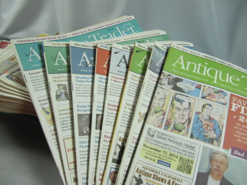 Antique Trader Magazines - Lot Of 50 - 2013-2014 - Many Interesting Articles