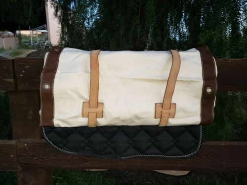 Horse and Mule Packing and Camping Equipment Slings - Canvas and Leather