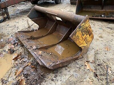 60 Wain Roy Smooth Edge Slab Bucket W 2 12 Pin Free Ship W25 Miles Only