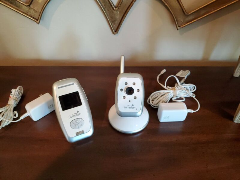 Summer Infant Color Digital Baby Monitor Camera 28870 COMPLETE