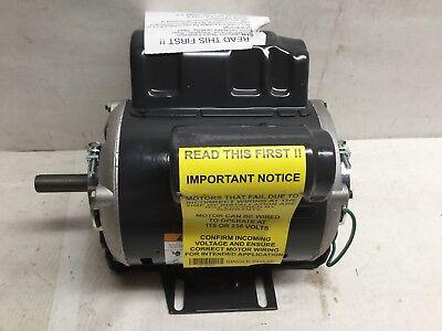 Dayton 30pt62 General Purpose Motor Capacitor Start 12hp 1725hp Single Phase
