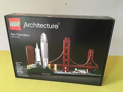 Lego Architecture San Francisco 21043 Skyline New Factory Sealed Box SoldOut Set