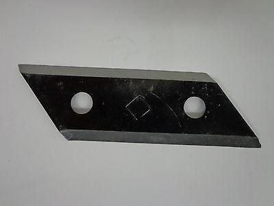 2 Stück Häckslermesser Ziehmesser passend für verschiedene AL-KO Häcksler