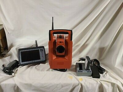 Hilti Pos150 5 Robotic Survey Layout Total Station W Poc200 Data Collector