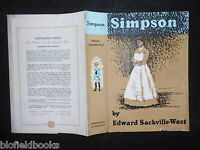 Original Lynton Lamb Dustjacket (only) For Simpson By Edward Sackville West - simpson - ebay.co.uk