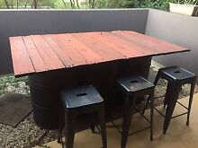 FREE recycled furniture outdoor table Petersham Marrickville Area Preview