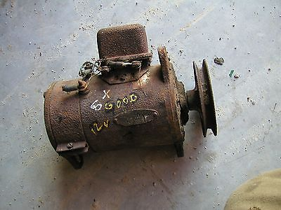 Oliver 60 Tractor Good Working 12v Generator With Belt Pulley 1101363 C21