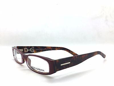 Dolce & Gabbana DG 3052 839 Red Tortoise Full Frame Plastic Eyeglasses 53mm