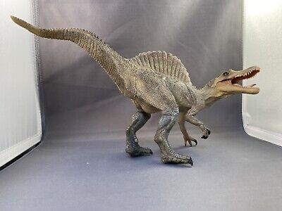 2007 Papo 1608 Plastic Spinosaurus Aegypticaus Jurassic Dinosaur Toy Figure