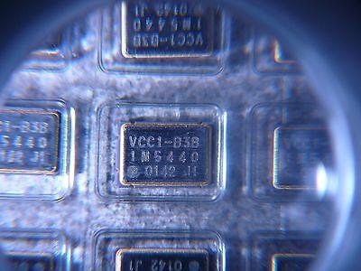 Vectron Vcc1-b3b-1m5440 Crystal Oscillator 1.544mhz Cmos 3.3v Smd New 2pkg