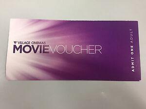 Village Cinema Movie Ticket x 2 Malvern East Stonnington Area Preview