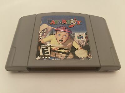 Paperboy (Nintendo 64, 1999) N64 Authentic Tested Cart Only FREE SHIPPING