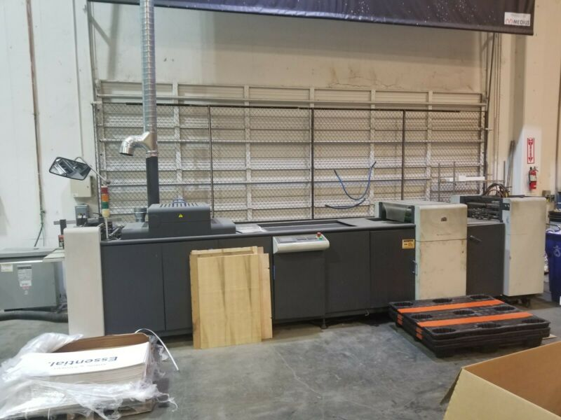Coater HP Indigo 1000 UV  Coater