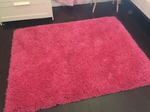 Soft pink rugs x 2