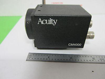 Microscope Inspection Video Camera Ccd Acuity Cm4000 Optics Binn5-06