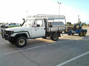 1989 Toyota LandCruiser Ute with Alloy Tray Scoresby Knox Area Preview