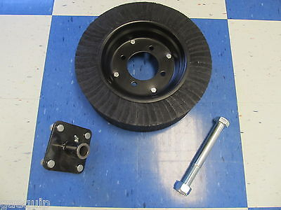 Rotary Cutter Tailwheel Wfriction Hub And Axle Bolt Fits Most All 4 5 Mower