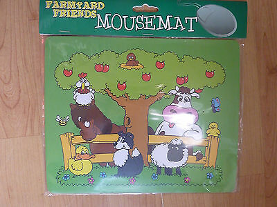 COMPUTER ACCESSORIES FARMYARD FRIENDS MOUSE MATS