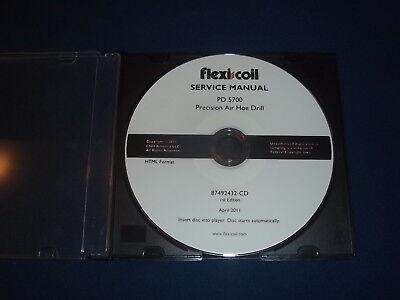 Case Flexi Coil Pd 5700 Precision Air Hoe Drill Service Shop Repair Book Manual