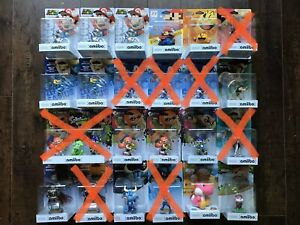 Nintendo Amiibo -  factory sealed - negotiate on multiples