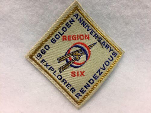 Boy Scouts - Region 6 - Explorer Rendezvous / Apatche style patch