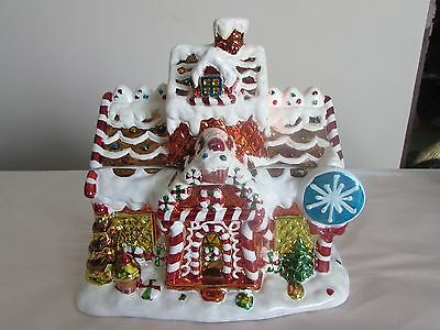 david's cookies christmas holiday  gingerbread cookie jar