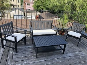 Patio Furniture - Chairs Bench Table
