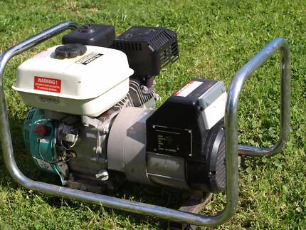 Villiers Generator Uses Unleaded 4 Stroke. Brocklesby Greater Hume Area Preview