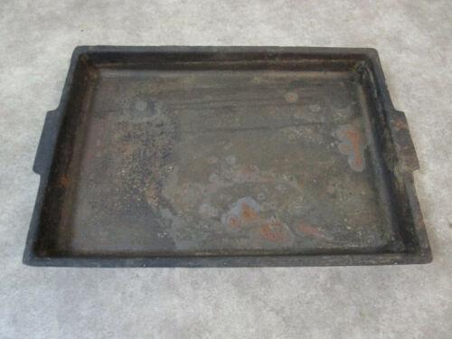 Vintage heavy Roloff MFG cast iron pan skillet tray Kaukauna Wis