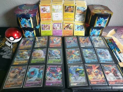 50 Pokemon Karten *SELTENE GX/V KARTE GARANTIERT* BOOSTERFRISCH