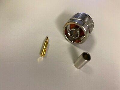 Amphenol 82-5375-rfx N-type Connector Crimp Plug 50 Ohm 11ghz New Qty-100