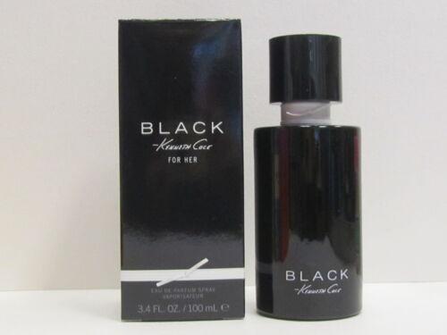 Black Kenneth Cole For Her Women 3.4 oz Eau de Parfum Spray New In Box Sealed