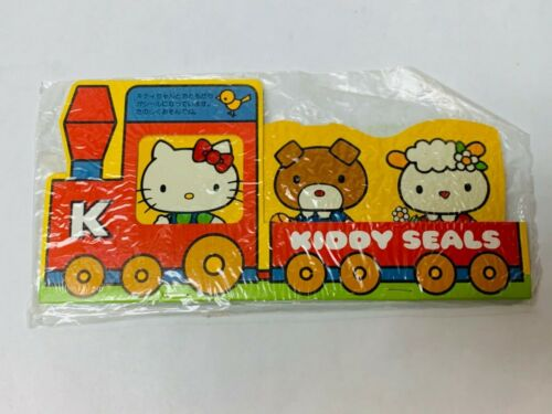"Hello Kitty Stickers Vintage Sanrio ""Kiddy Seals"" 1976 Kawaii Collectible NOS"