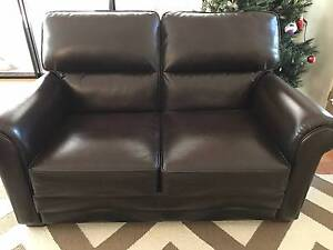 MORAN Benson 3 seater & 2 seater Genuine Leather Sofas! Kenmore Brisbane North West Preview