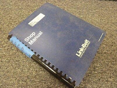 Link-belt Hsp-8040 Rough Terrain Hydraulic Crane Shop Service Repair Manual