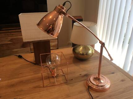 Various Cheap Bunnings Table / Desk Lamps - MUST GO