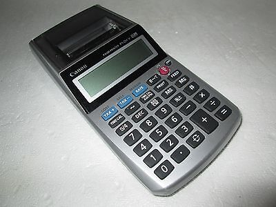 Canon Palm P1-DH V Printing Calculator 12 Digits Tax Home Office