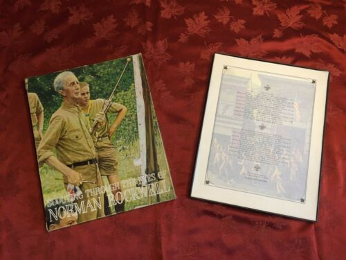 SCOUTING THROUGH THE EYES OF NORMAN ROCKWELL- COMPLETE SET -GREAT CONDITION